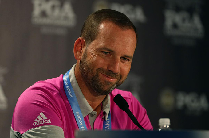 Sergio Garcia PGA Championship