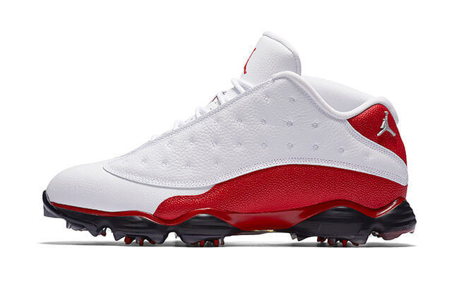 Nike Golf Air_Jordan 13_White_Red F18 Blog