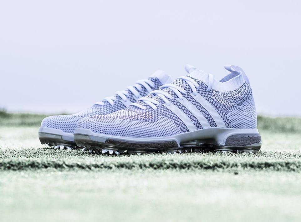 Adidas Tour360 Boost Knit Silver Ltd Edition